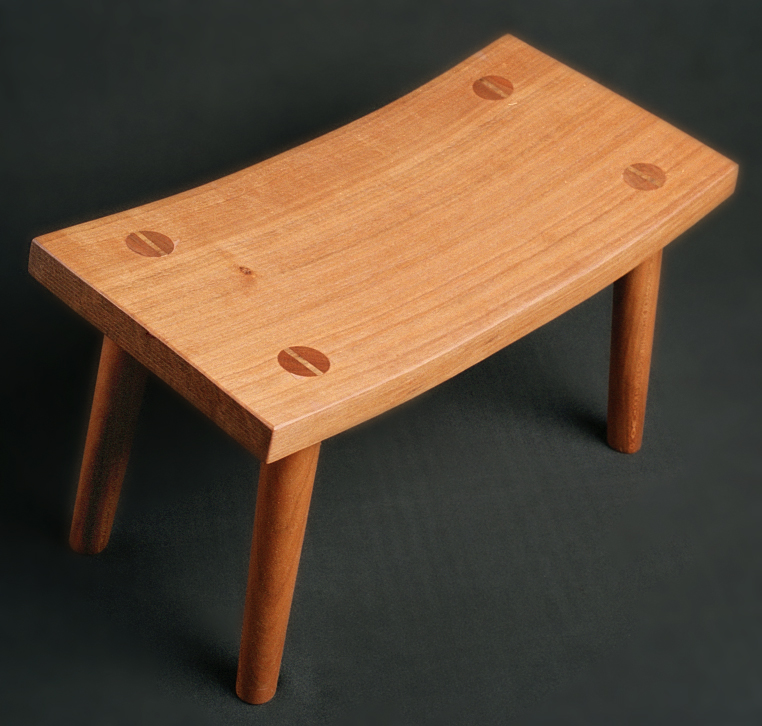 Curved Foot Stool